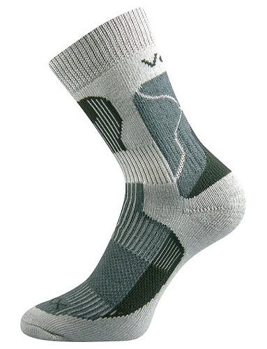 TREKING sportovní ponožky VoXX, světle šedá