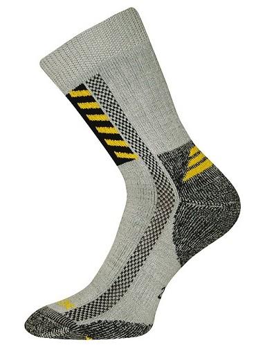 Ponožky VoXX Power work, světle šedá