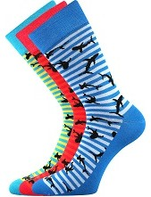 WEAREL 011 společenské ponožky Lonka - balení 3 páry