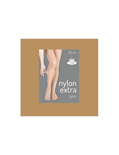 Punčochové kalhoty NYLON EXTRA tights 20DEN, beige