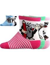 Ponožky Boma - Krteček, balení 3 páry