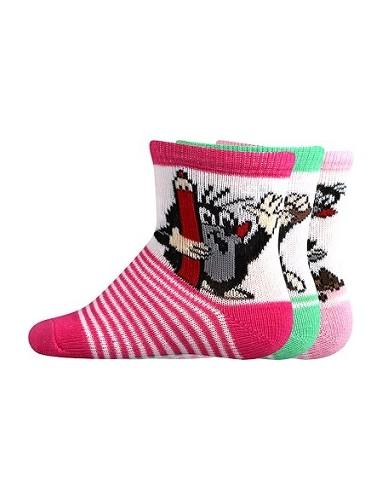 Ponožky Boma - Krteček Mix B - holka