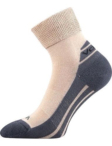 OLIVER sportovní ponožky VoXX, béžová ve velikostech 23-31