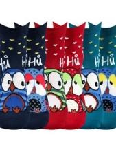 Ponožky Boma Xantipa 43 - balení 3 páry v barevném mixu
