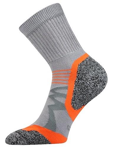 SIMPLEX sportovní ponožky VoXX, světle šedá