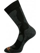 Ponožky VoXX Etrex Merino vlna, černá
