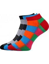 Výprodej vel. 26-28 (39-42) PIKI dámské ponožky Boma Mix 43B - balení 3 páry