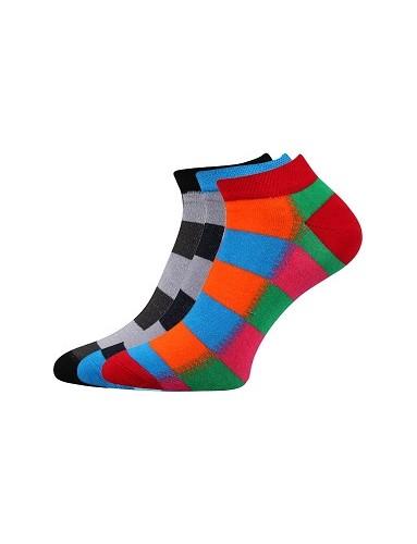 PIKI dámské ponožky Boma Mix 43B - balení 3 páry