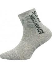 Výprodej vel. 23-25 (33-38) ADVENTURIK dětské sportovní ponožky VoXX - balení 3 páry