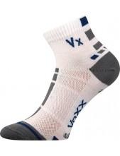 MAYOR sportovní ponožky VoXX - balení 3 páry, bílá
