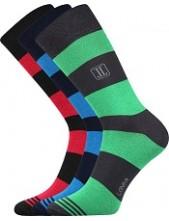 Výprodej ve 26-28 (39-42) DESTRIP společenské ponožky Lonka - balení 3 páry