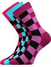 Výprodej vel 23-25 (35-38) Ponožky Boma - Koskana Mix 05 - balení 3 páry