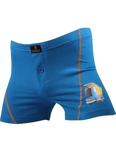 Chlapecké boxerky Lonka - Daryk modrá