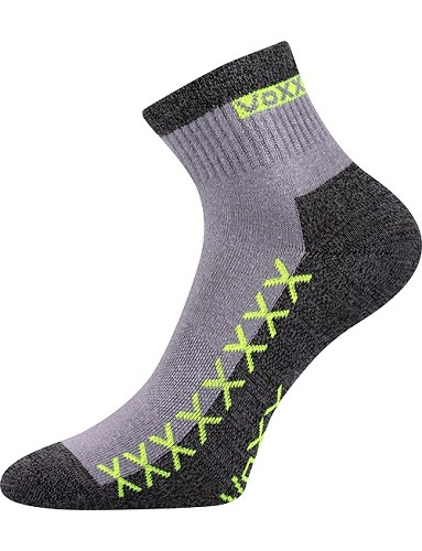 VECTOR sportovní ponožky VoXX, světle šedá
