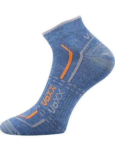 Ponožky VoXX REX 11, jeans - melé