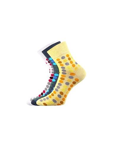 Ponožky Boma IVANA Mix 46 - balení 3 páry