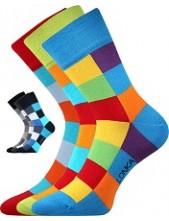 DECUBE ponožky Lonka - balení 3 páry v barevných mixech