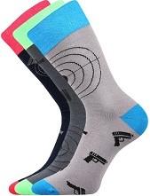 WEAREL 007 společenské ponožky Lonka - balení 3 páry