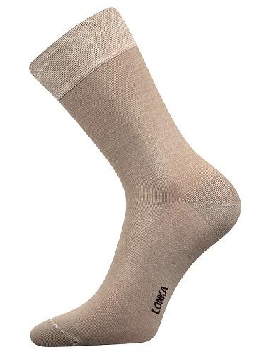 DEBOB bambusové ponožky Lonka, béžová