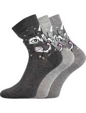 Ponožky Boma Xantipa Mix 49 - balení 3 páry v barevném mixu