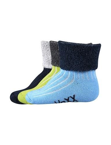 LUNIK kojenecké ponožky VoXX, mix B
