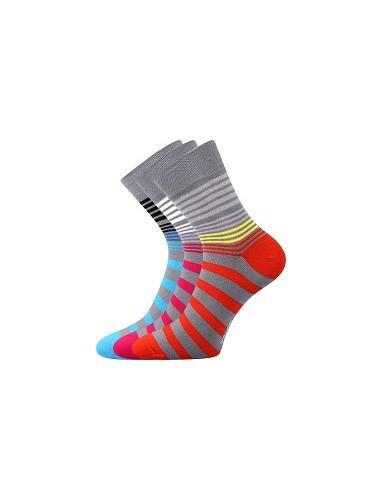 Ponožky Boma IVANA Mix 48 - balení 3 páry