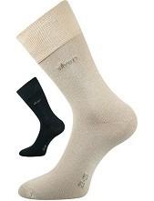 Výprodej vel 26-28 (39-42) DESILVE společenské ponožky Lonka - balení 3 páry