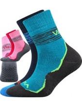 PRIME ABS dětské protiskluzové ponožky VoXX, mix kluk - balení 2 páry