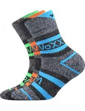 Výprodej vel 14-16 (20-24) HAWKIK dětské sportovní ponožky VoXX - balení 3 páry
