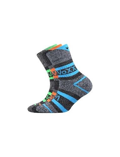 HAWKIK dětské sportovní ponožky VoXX, mix kluk - balení 3 páry