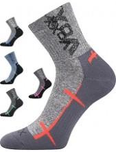 WALLI sportovní ponožky VoXX, světle šedá
