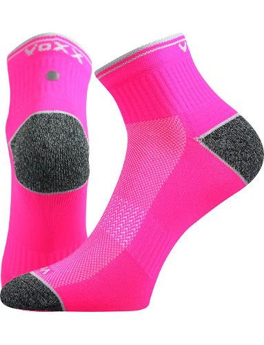 Ponožky VoXX RAY, neon růžová