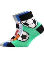 Ponožky Boma - Arnold balení 3 páry v barevném mixu