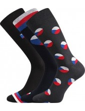 WEAREL 016 společenské ponožky Lonka - balení 3 různé páry