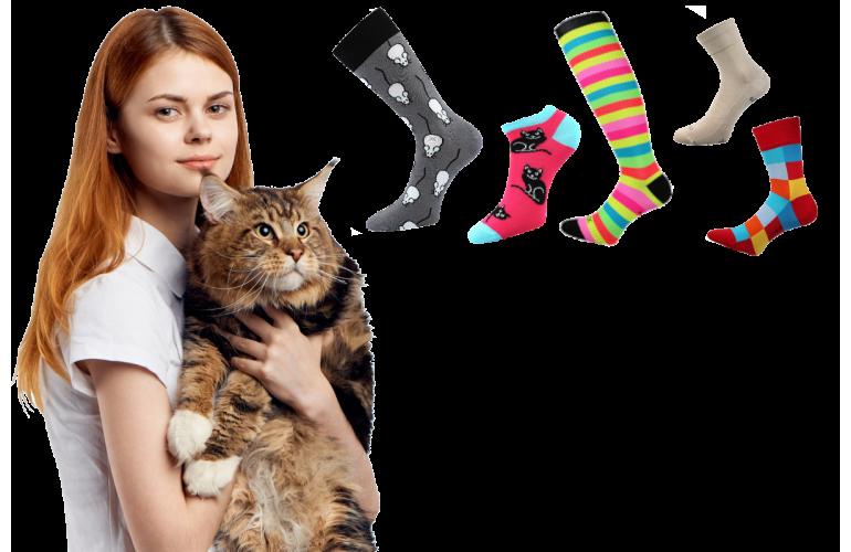 Dámské a pánské ponožky